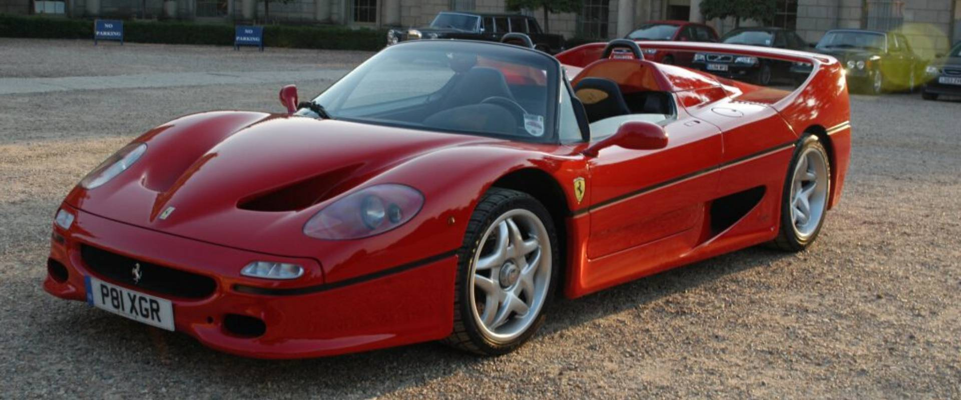 Three Drives Ferrari F50