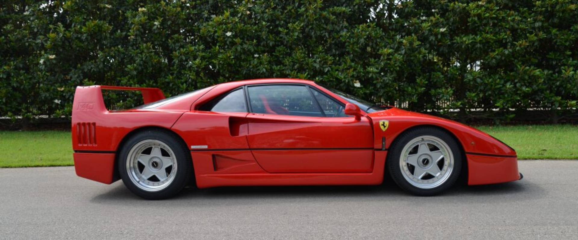 Ferrari F40 – 1st Service in the New World