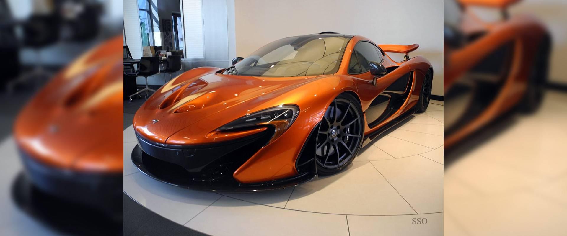 Day 1 Challenge McLaren P1 & 650S Spider