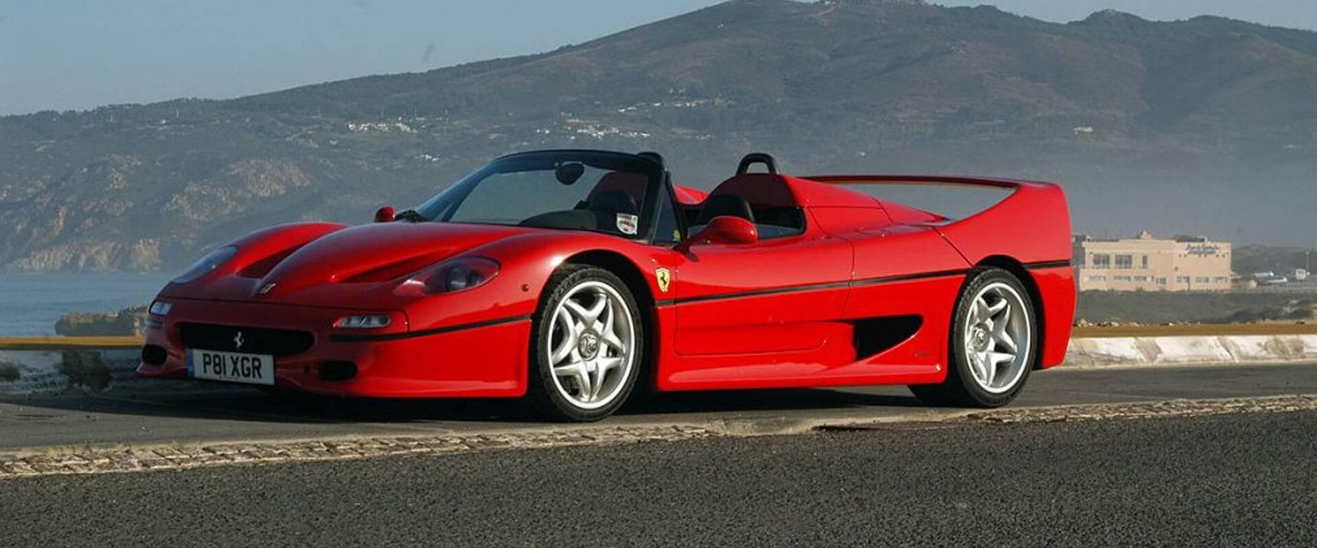 The Ferrari F50